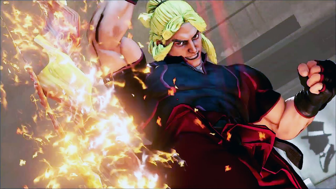 STREET FIGHTER V Ken Trailer #VideoJuegos #Consolas
