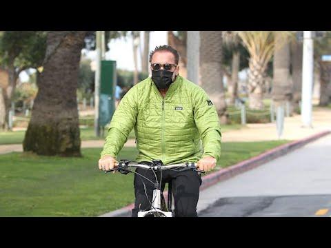 Arnold Schwarzenegger Cruises The Coast On His $5K Electric Bike