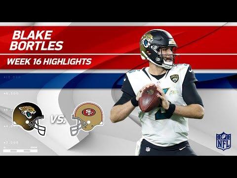 Video: Blake Bortles Highlights | Jaguars vs. 49ers | NFL Wk 16 Player Highlights