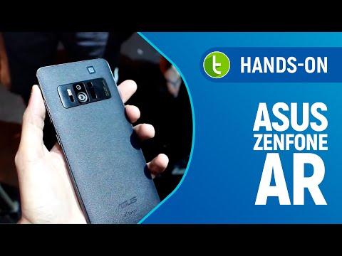 Hands-on Asus Zenfone AR  Vídeo do TudoCelular