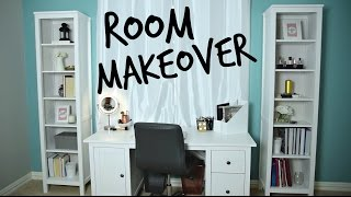 EXTREME Room Makeover Behind the Scenes! + Bloopers
