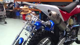 9. Husqvarna TC449 With Full System Ackrapovic Exhaust