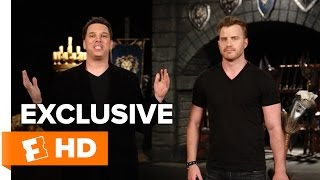 How To Fight Like an Orc with Rob Kazinsky | Warcraft Lessons HD by  Movieclips Trailers