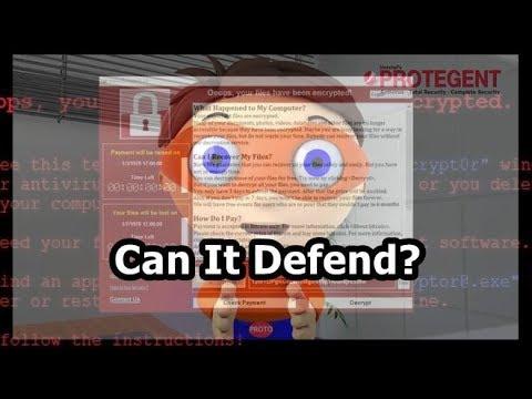Protegent Anti-Virus VS WannaCry {A-V Test #1}