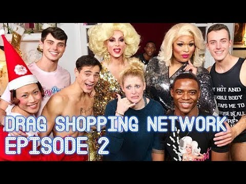 Drag Shopping Network: Episode 2 (Holiday Special with Yuhua Hamasaki)