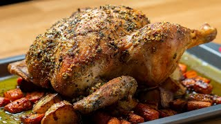 Hearty Whole Rosted Chicken • Tasty by Tasty