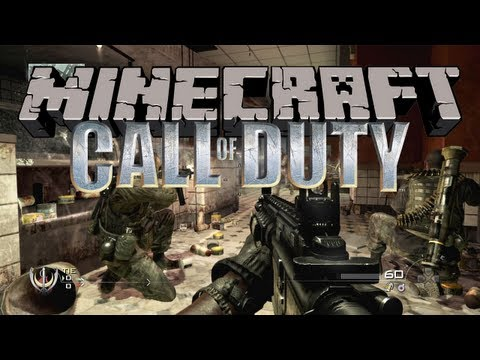 Minecraft: CALL OF DUTY! w/BajanCanadian #2
