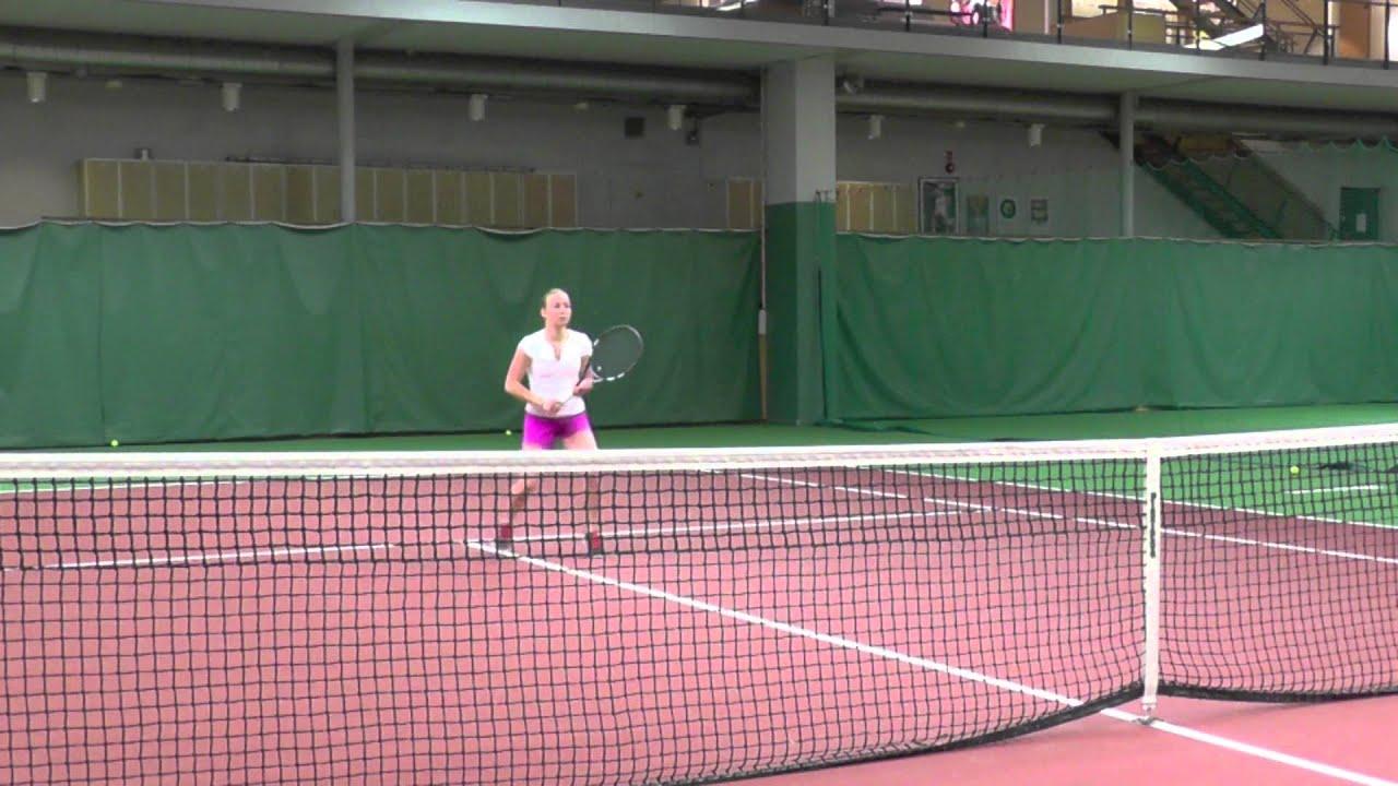 College Tennis Recruiting Video 2015 Carin Runefelt