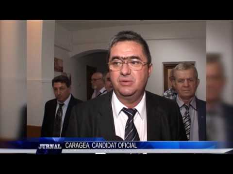 CARAGEA, CANDIDAT OFICIAL