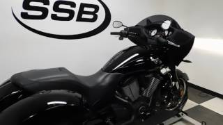4. 2014 Victory Cross Country 8-Ball - used motorcycle for sale - Eden Prairie, MN