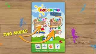 Kids Coloring and Math YouTube video