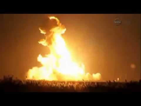 explosion - A rocket exploded just after it launched from a NASA launchpad on Virginia's eastern shore bound Tuesday evening on a supply mission to the International Space Station. Scientists were scrambling...