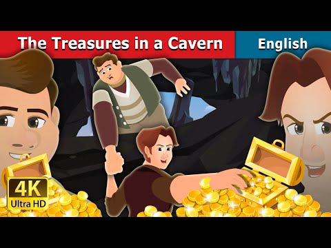 The Treasures in a Cavern Story in English | Stories for Teenagers | English Fairy Tales