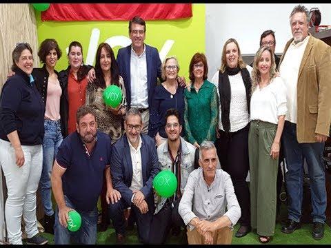 """Acto Oficial de Candidatura de """"VOX"""" Isla Cristina"""