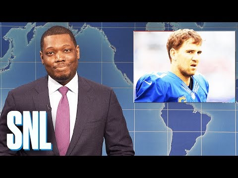 Weekend Update on Eli Manning Being Benched - SNL