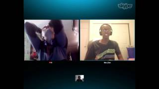 Just Having fun on skype