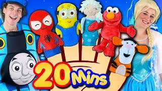 Video Finger Family Song - Mega Finger Family Collection! Frozen, Minions, Elmo, Nursery Rhymes & More! MP3, 3GP, MP4, WEBM, AVI, FLV Oktober 2017