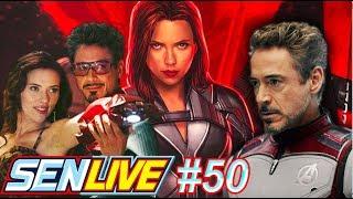 Will Tony Stark Appear in Black Widow? - SEN LIVE #50 by Schmoes Know