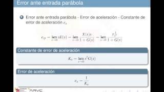 Umh1773 2012-13 Lec001 Estabilidad Y Precision Sistemas Continuos Realimentados