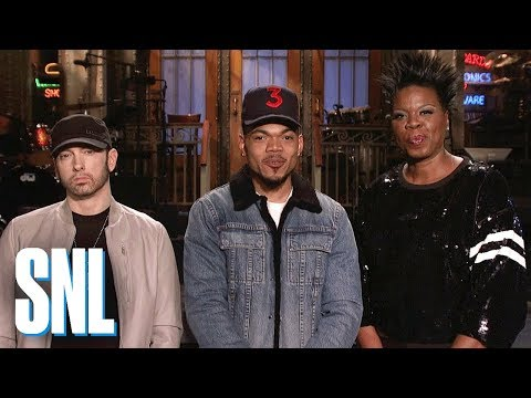 Eminem и Chance The Rapper станут гостями шоу «Saturday Night Live»