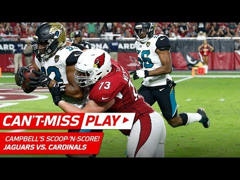 Video: Calais Campbell's Spectacular Scoop-'n-Score vs. Former Team! | Can't-Miss Play | NFL Wk 12