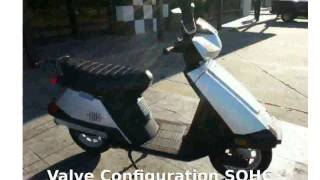 3. 2005 Honda Elite 80 Base Details, Walkaround