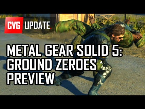 Preview - Metal Gear Solid Ground Zeroes - ULTIMATE PREVIEW & NEW GAMEPLAY (PS4) ☆ Want more? Read CVG's full preview here: http://bit.ly/MGSVPreview We recently got t...