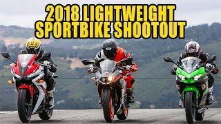 2. 2018 Lightweight Sportbikes Shootout