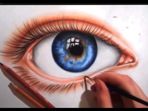 eye pencil - eye drawing ... its mostly due to school etc ie but been doing a lot of realism and so I thought I would do something different for a change , oh and sorry f...