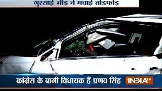 Roorkee India  city images : Mob Targets Kunwar Pranav Singh Champion's House in Roorkee