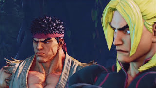 Video ALL Ken & Ryu Cut-Scenes & Fights: Street Fighter V Story Mode MP3, 3GP, MP4, WEBM, AVI, FLV Februari 2019