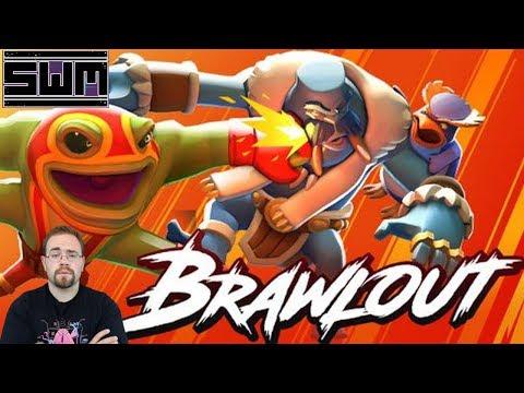 Brawlout PC Nintendo Switch PS4 XB1! Spawn Wave Plays!