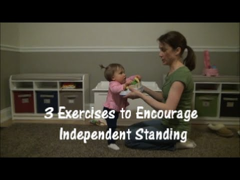 Exercises to Help Baby Learn to Stand Independently