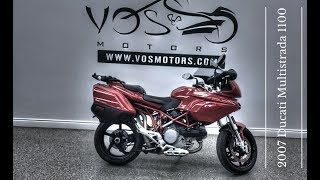 9. 2007 Ducati Multistrada 1100 Walkaround Video