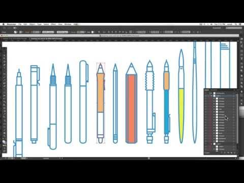 Illustrator Basics: Staying Organized With Layers & Groups