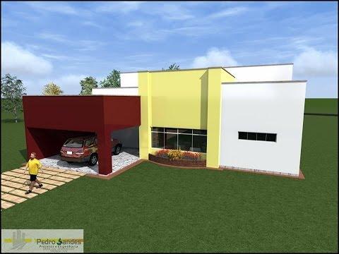 Vídeo de animação da casa Pastoral da Assembleia de Deus Comadesma em Feira Nova.