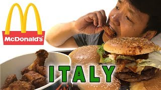 Video Trying McDonald's in ROME ITALY! MP3, 3GP, MP4, WEBM, AVI, FLV Oktober 2018