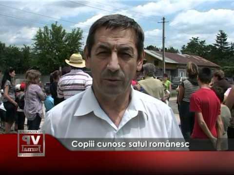 Copiii cunosc satul românesc