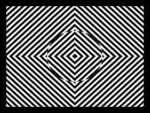 「凝視することで麻薬の疑似体験ができる動画」のイメージ