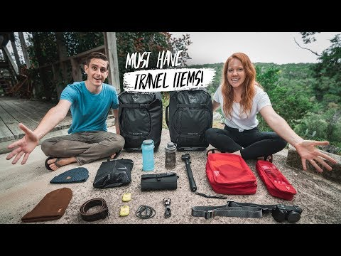 Our 12 ESSENTIAL TRAVEL ITEMS - Backcountry Haul + Hike