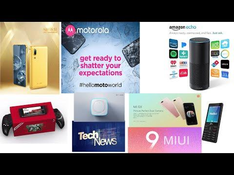 TechNews #9 JioPhone No Whatsapp,Nokia 2 specs,Samsung S8 daydream, MIUI9, Mi 5X, Moto Z2 Force