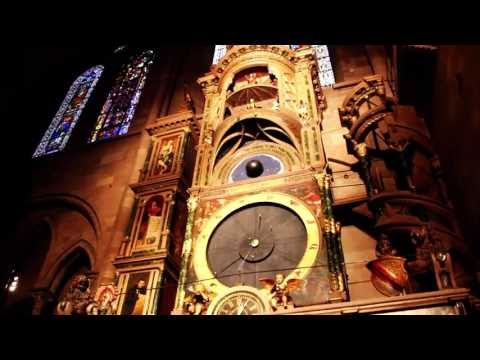 Strasbourg Astronomical Clock at Notre Dame Cathedral [HD]