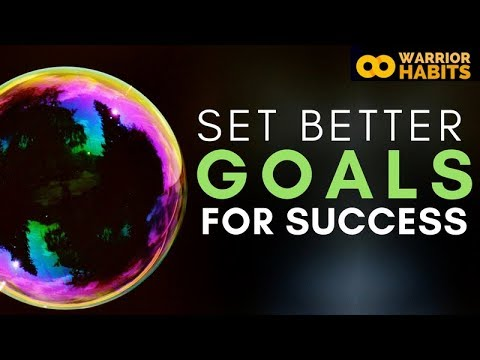 Set Better Goals for Success - Identity Based Goals