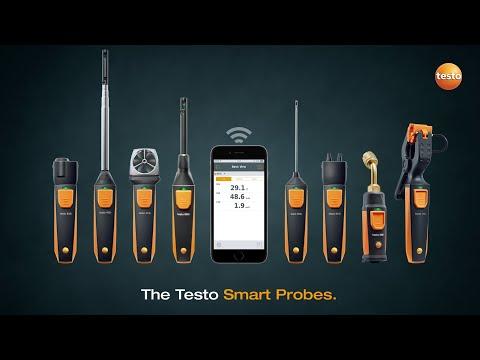 Полный комплект смарт-зондов для систем ОВКВ Артикул: 0563 0002 31. Производитель: Testo SE & Co. KGaA.