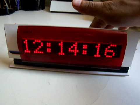 Wise4Sure - Wise Clock (Arduino-based) with LED display from Sure