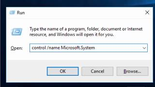 Shows you how to tell if you are running a 32 bit or 64 bit version of windows.