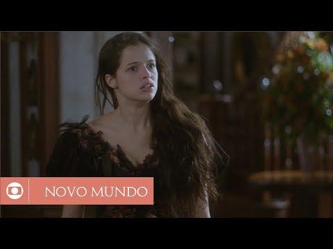 Novo Mundo: capítulo 125 da novela, terça, 15 de agosto, na Globo