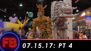Touring the D23 2017 Pavilion Floor  07-15-17 Pt. 4 [DL]Well we finally get to see the pavilion floor you guys!  We've only been here for 10 hours.  But no problem, we've got a hole hour left to see ALL OF THE REST OF THE FLOOR.Support us on Patreon: http://bit.ly/2mMJoQMFresh Baked Presents: http://bit.ly/2e7kh6jLady Romey: http://bit.ly/28Zk9U8Duke of Dork: http://bit.ly/29m1RMASpecial thanks to our Producers:Robert J. HoltzEvan LaytonFind us also at:  Web: http://www.freshbakeddisney.comTwitter: @frshbakeddisneyFacebook: facebook.com/freshbakedandstuffInstagram: @FreshBakednstuff and @FreshBakedWDWSend us mail at PO Box 1519, Tustin, CA 92781Intro music courtesy of Kevin MacLeod and incompetech.com.Fresh Baked is the leading authority on how to have a good time at  Disneyland.  We provide weekly reports from the parks, special features about the secrets and history, news, top 10's and more!  Subscribe today to get the best of Disney baked fresh daily.