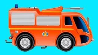 Обзоры мобильных игр - пожарный грузовик - мультик про пожарную машину