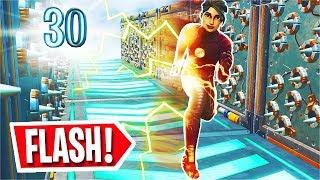 The 30 Level FLASH 2.0 DEATHRUN in Fortnite! (Fortnite Creative)